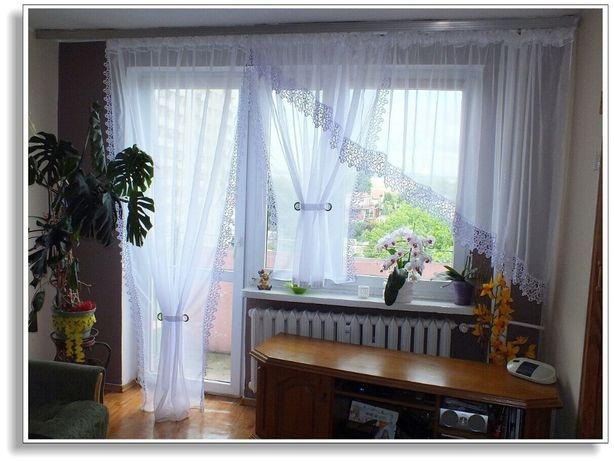 Firany Firana Gotowa Magda 400 X 150 Balkon 150 X 250
