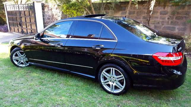 Glossy Black Mercedes E250 CGI AMG Sport Package. Call Owner Directly Lavington - image 4