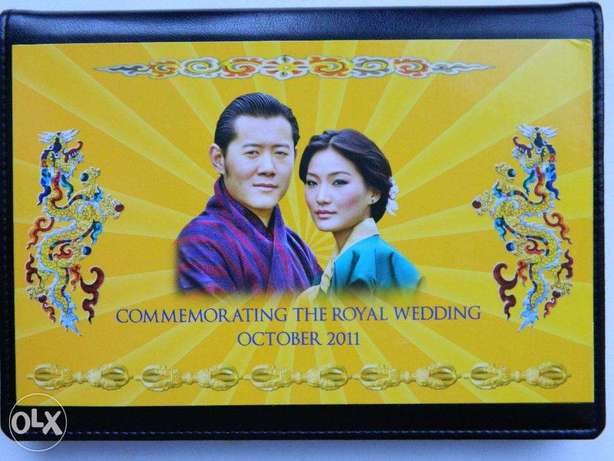 "Bhutan banknote 100 ngultrum 2011 ""Royal Wedding"" Commemorative Issue"