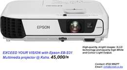 Multimedia Epson projector EB-S31
