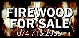 We sell firewood with free delivery