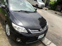 Neatly used 2012 Toyota Corola thumb start.no issues.buy and drive