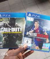 PS4 PES 2108 and Call Of Duty