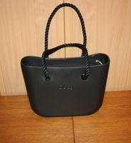 4a21fdc62711c Kompletna torebka Obag Czarna / Nero + org. czarny + dł. czarne