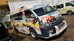 2010 White Toyota Hiace 1KD 18 seater on sale at unbelievable offer