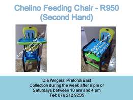 Chelino Feeding Chair - Please call after 5 pm during the week