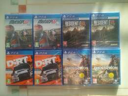 PS4 Latest Games New Sealed