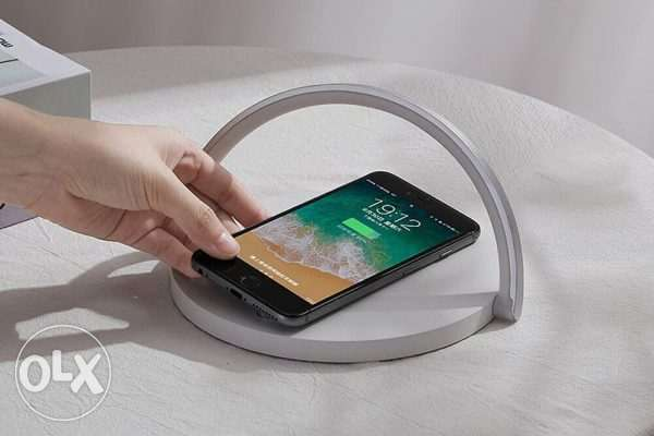 LED Wireless Charger Table Lamp Foldable