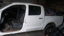 Hilux 2011 model double cab stripping for spares