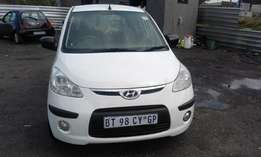 Hyundai i10 1.2 Model 2010 5 Doors Colour White Factory A/C&CD Play