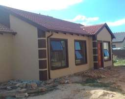 70sqm brand New 3Bedroom house now selling For R555 000 & R5500pm