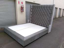 King size headboard and base