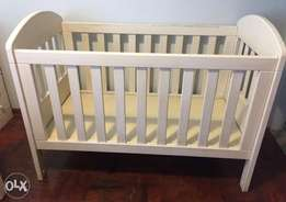 Large wooden cot
