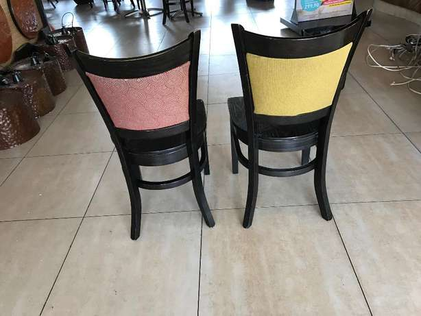 wooden chairs with fabric Vanderbijlpark - image 2