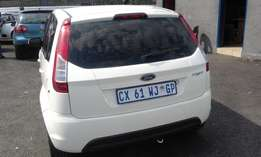 Ford Figo 1.4 5 Doors Colour White Model 2014 Factory A/C & CD Player