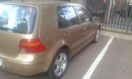 golf 4 1.6 2002 model for sale