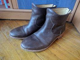 Шкіряні осінні італійські чобітки 36 розміру від Vero Cuoio 4688ed44771ae