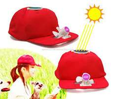 Save yourself from sunlight..use solar fan cap