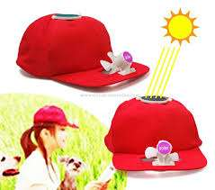 Save yourself from sunlight..use solar fan cap Mkomani - image 1