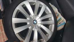 7 series rims and tyers