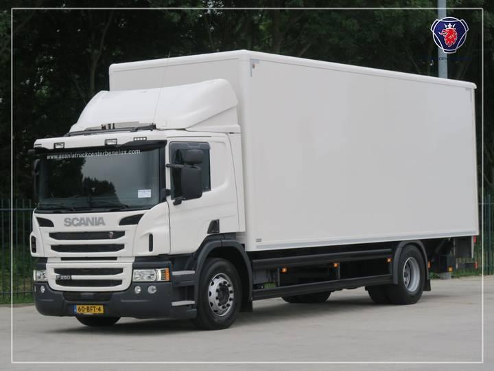 Scania P250 DB4X2MNB | Laadklep | Zijdeur | 760x248x268 LxBxH - 2015