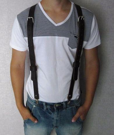 Кожаные брутальные мужские подтяжки (на заказ) Маневичи - изображение 3 6e7294f1042