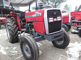 Massey Ferguson MF 375 with 3 Disc Plough,75 Horse Power,Power Steerin
