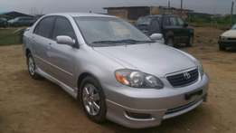 A foreign used Toyota Corolla 2006 Sport edition