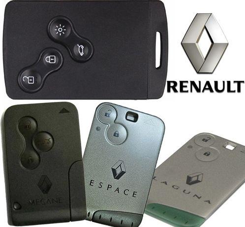 Karta Renault Megane 2 I 3 Scenic 3 Laguna 2 I 3 Espace Clio 4 Kodow