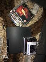 Fairly used PS3 game console + 13 games+ pad