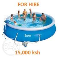 For HIRE Inflatable Swimming Pool 4,57m x 1,07m