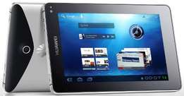 Brand new Huawei S7 tablet in a shop