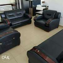 Quality black leather chair