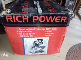 Brand new rich power cutting machine up for sale