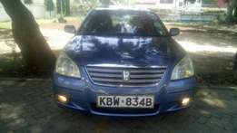 Toyota Premio sky blue 2007 model KBW number. Loaded with alloy rims