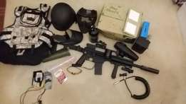 Full Paintball kit - Tippmann Sierra One (with upgrades)