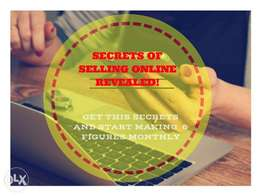 Secrets of Selling Online and making 6 figures monthly Revealed
