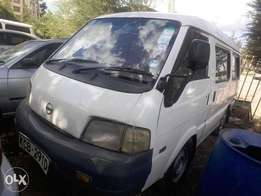Nissan vanette diesel manual on sale