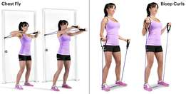 Resistance tube exercise bands