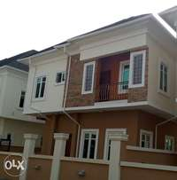 New 4 Bedroom Fully Detached Duplex, Ologolo, opposite Agungi, Lekki
