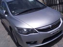 Honda civic 2L with steering control