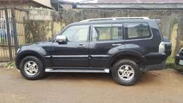 2008 Mitsubishi Pajero. Black. Excellent Condition. Quick Sale