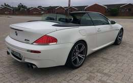 2008 bmw m6(e64) convertible 5.0 v10 (373kw/520nm) 7 speed smg