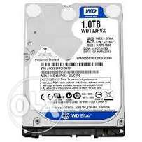 1 TB WD Blue Laptop Hard Disk - Fast speeds