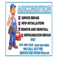 Aircondition repairs & service