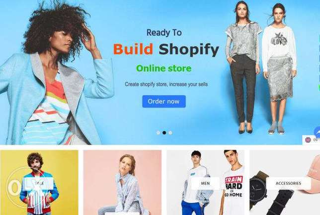 we will build shopify ecommerce website and store