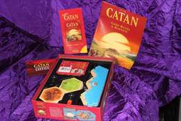 Catan board game and 5-6 player extension set in immaculate condition
