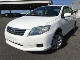2010 Toyota Axio white in color superb drive.