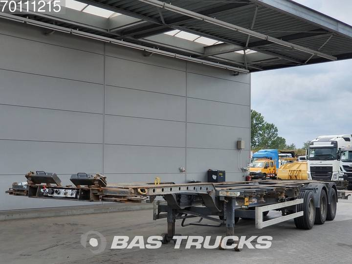 Krone SD 2x20-1x30-1x40-1x45 ft 3 axles Multifunctional Chassis - 2006