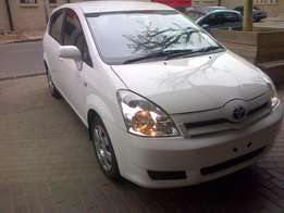2006 toyota verso 1.6Tx comfortline 95000km with full service history